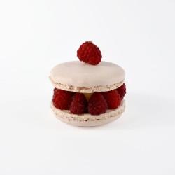 Macaron Citron Framboise - La Pâtisserie du Mois