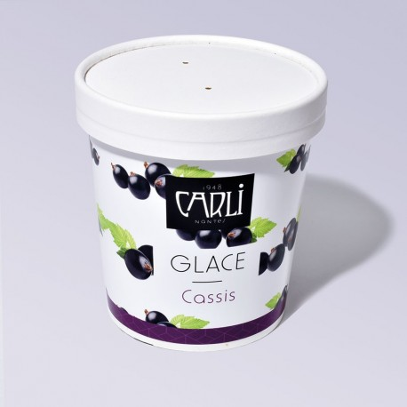 Glace Cassis