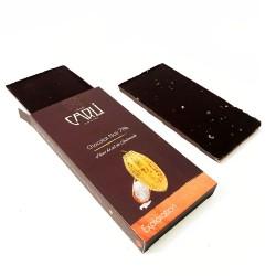 Tablette à la fleur de sel Guérande - Chocolat noir 70%