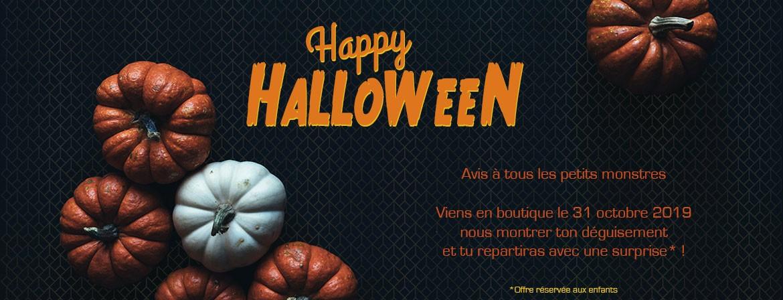 Venez en boutique découvrir nos créations Halloween
