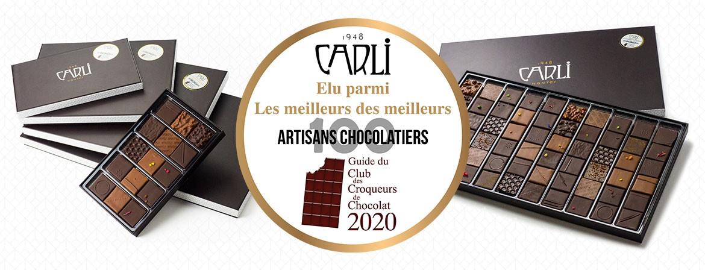 Chocolats Médaille d'Or 2020